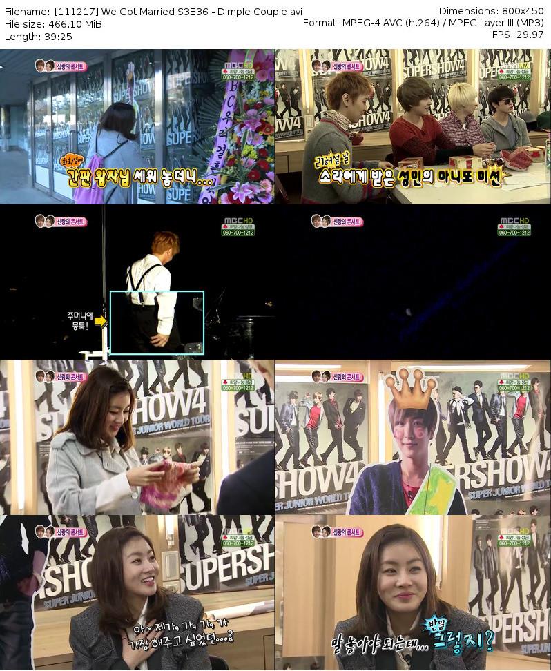 VIDEO] 111217 WGM Leeteuk & Sora : Dimple Couple Ep.10 (Download Link
